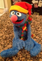 """Macy's Winter Grover 2004 Plush Hat & Scarf 24"""" Limited Edition Sesame S... - $12.01"""