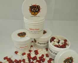 NITRO-TEST! Nitric Oxide & Testosterone Booster! Tribulus Terrestris, AAKG, Arg. - $34.95