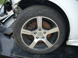 2009 MITSUBISHI LANCER ELBRUS WHEEL WITH BRIDGESTONE TIRE  image 4