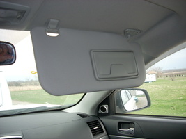 2009 MITSUBISHI LANCER RIGHT SUN VISOR