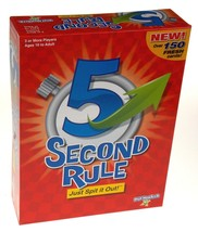 Playmonster 5 Second Rule Card Game Family Teens Party Gift Timer Cards ... - $28.39