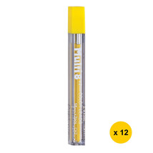 [Xmas] Pentel CH2 Multi 8 2.0mm Colour Pencil Refill (12 tubes) - Yellow... - $16.96