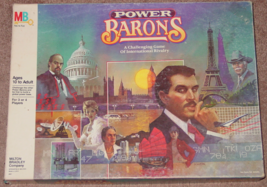 Power Barons Game Of International Rivalry 1986 Milton Bradley Complete Excellen - $25.00
