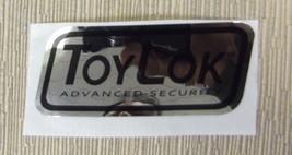 "RV Safety Decal ""ToyLok Advanced Security"" UPC:710534473958 - $6.44"