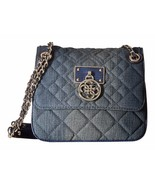NWT GUESS Aliza Convertible Crossbody Flap Blue... - $108.00
