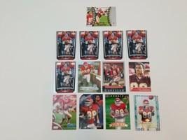 Tony Gonzalez Lot of 13 Football Cards Kansas City Chiefs 97 Pinnacle Up... - $17.41