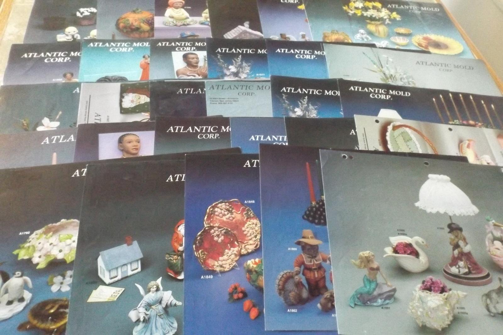 24 Atlantic Mold Corp. Ceramic Technique Sheets 1988-1999 and 5 Bonus Sheets