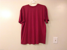 Unisex Men's XXL Women's 3XL T-Shirt Tee Top Red Pink-ish UCP of Chemung County image 2