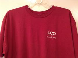 Unisex Men's XXL Women's 3XL T-Shirt Tee Top Red Pink-ish UCP of Chemung County image 3