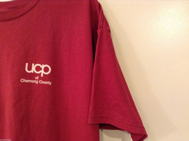 Unisex Men's XXL Women's 3XL T-Shirt Tee Top Red Pink-ish UCP of Chemung County image 6