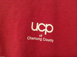 Unisex Men's XXL Women's 3XL T-Shirt Tee Top Red Pink-ish UCP of Chemung County image 5