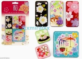 "Japanese Pattern wagara MAGNETS  ""sakura""  stat... - $6.43"