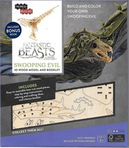 Fantastic Beasts Swooping Evil 3D Laser-Cut Wood Model Kit and Deluxe Bo... - $16.39