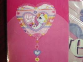 "21"" Jumbo My Little Pony Love Mylar Balloon-Low Ship - $3.49"
