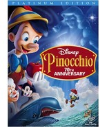 Pinocchio (DVD, 2009, 2-Disc Set, 70th Anniversary Platinum Edition) - $7.92
