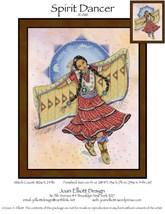 Spirit Dancer JE088 cross stitch chart Joan Elliott Designs - $14.00