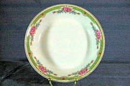 CH Field Haviland Limoges Pink Floral & Scroll Green GDA Mark Coup Soup ... - $9.00