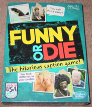 FUNNY OR DIE HILARIOUS CAPTION GAME 2013 HASBRO GAMING FACTORY SEALED PA... - $15.00