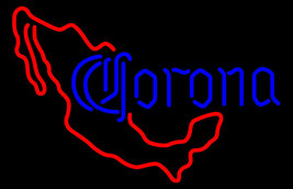 Corona Mexico Red Map Neon Sign - $799.00