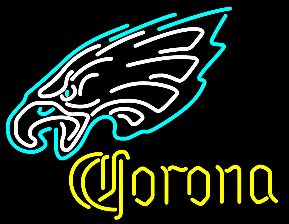 Corona NFL Philadelphia Eagles Neon Sign