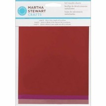 Transfer Foil Sheets (6 Pack) Shiny Red Pink Magenta Metallic Deco Paper - $6.91