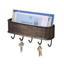 InterDesign Twillo Mail, Letter Holder, Key Rack Organizer - $16.50