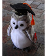 Beanie Babies Baby Ty Wiser the Owl Graduate Graduation 1999 Retired Col... - $3.50