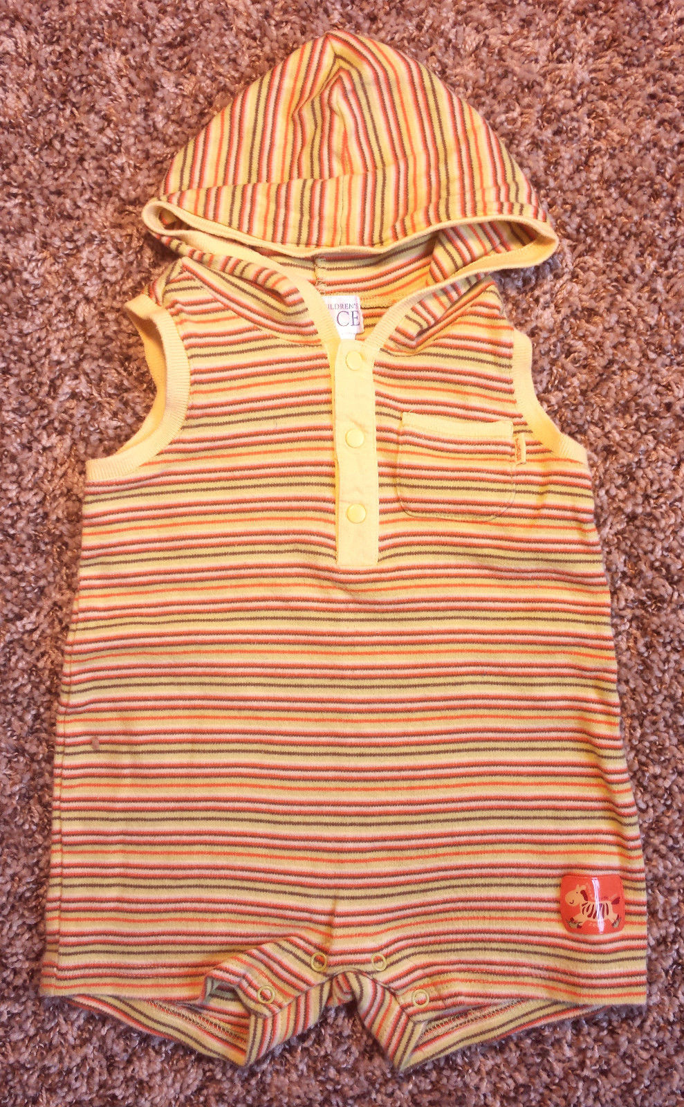 a488a4007f83 Boy s Size 6-9 M Months One Piece Yellow and 16 similar items