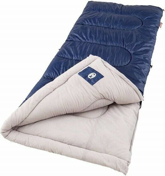 """Single Person Brazos Sleeping Bag 75""""x 33"""" Warm Weather, +20°F & Above Polyester - $128.96"""