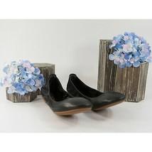 Tory Burch Eddie Black Nappa Leather Ballet Flats Sz 8 NIB - $162.86
