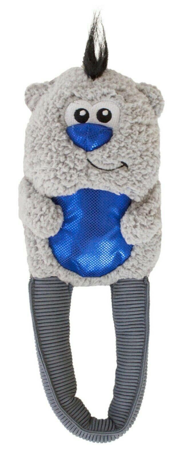Stretch Tugz Polar Bear for Dog Toy Soft Shiny