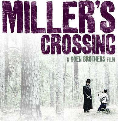 Miller's Crossing T shirt retro 90's movie indie film 100% cotton graphic tee
