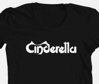 Cinderella T shirt retro 80's glam hair metal concert rock band 100%  cotton tee