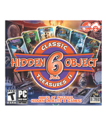 Classic Treasures II Hidden Object Games (PC DVD), 6 Pack Computer Game - $9.95