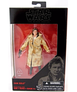 Star Wars The Black Series Han Solo 3.75 in exc... - $15.95