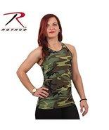 Rothco Womens Camo Workout Performance Tank Top... - $11.99