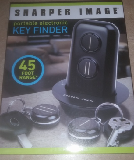 Sharper Image Portable Electronic Key Finder And 22 Similar Items