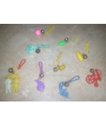Vintage Retro Original Plastic Charms Lot For Vintage Toy Necklace Rare ... - $29.99