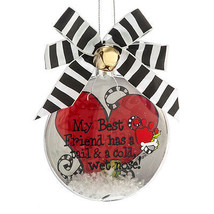 Best Friend Dog Ornament - $16.95