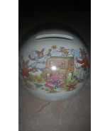 Royal Doulton Bunnykins Porcelain Piggy Bank 1936 - $34.99