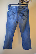 Rock and Republic Henlee Men's Lightly Distressed Boot Cut Button Fly Je... - $21.56
