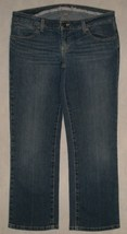 American Eagle Limited Blue Issue Crop Capri Stretch Jeans Womens Size 8 - $24.99