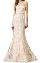 Fanmu Lace Sweetheart Mermaid Full-length Wedding Dress Bridal Gowns Ivory US 12 - $179.99