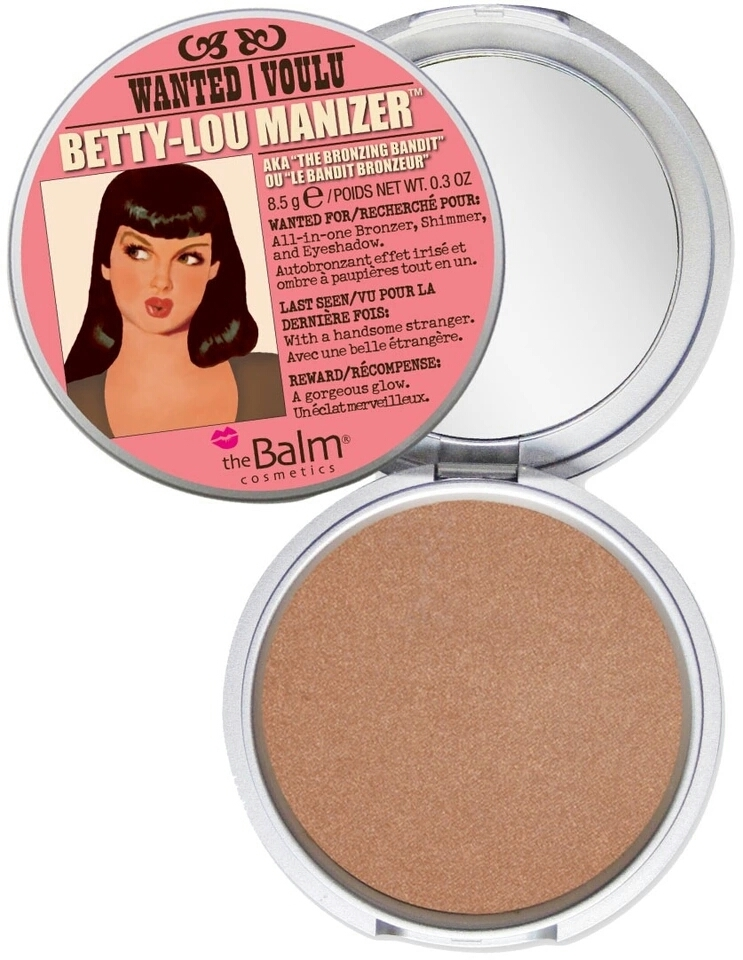 Primary image for theBalm Betty-Lou Manizer All-In-One Highlighter Shimmer Shadow Bronzer