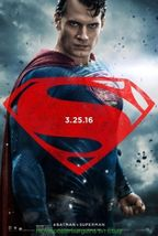 BATMAN VS SUPERMAN  Dawn of Justice MOVIE POSTER DS 27x40 Superman 2nd A... - $23.44