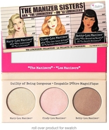 TheBalm The Manizer Sisters Luminizer Bronzer Highlighter Collection Pal... - $26.00