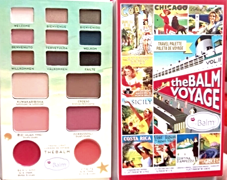 Primary image for theBalm Voyage Volume 2 Makeup Travel Palette