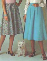 Simplicity 8339 Sewing Pattern Jiffy Misses Skirt in 2 Lengths Size 6-8 ... - $5.50