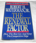 The Renewal Factor How the Best Get and Keep the Competitive Edge by Rob... - $12.77