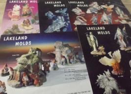 5 Lakeland Molds Ceramic Technique Sheets  - $4.00